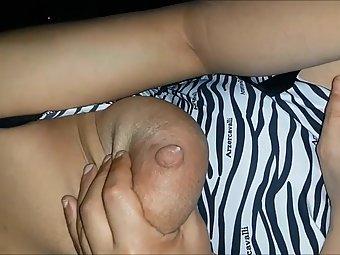 Lactating Hot Juicy Indian Boobs