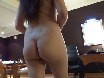 Indian MILF Walking Nude In Bedroom