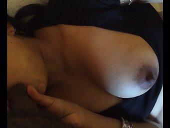 Perky Indian Breast Bhabhi