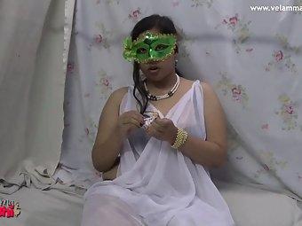 Velamma Bhabhi Loves To Suck Big Cock